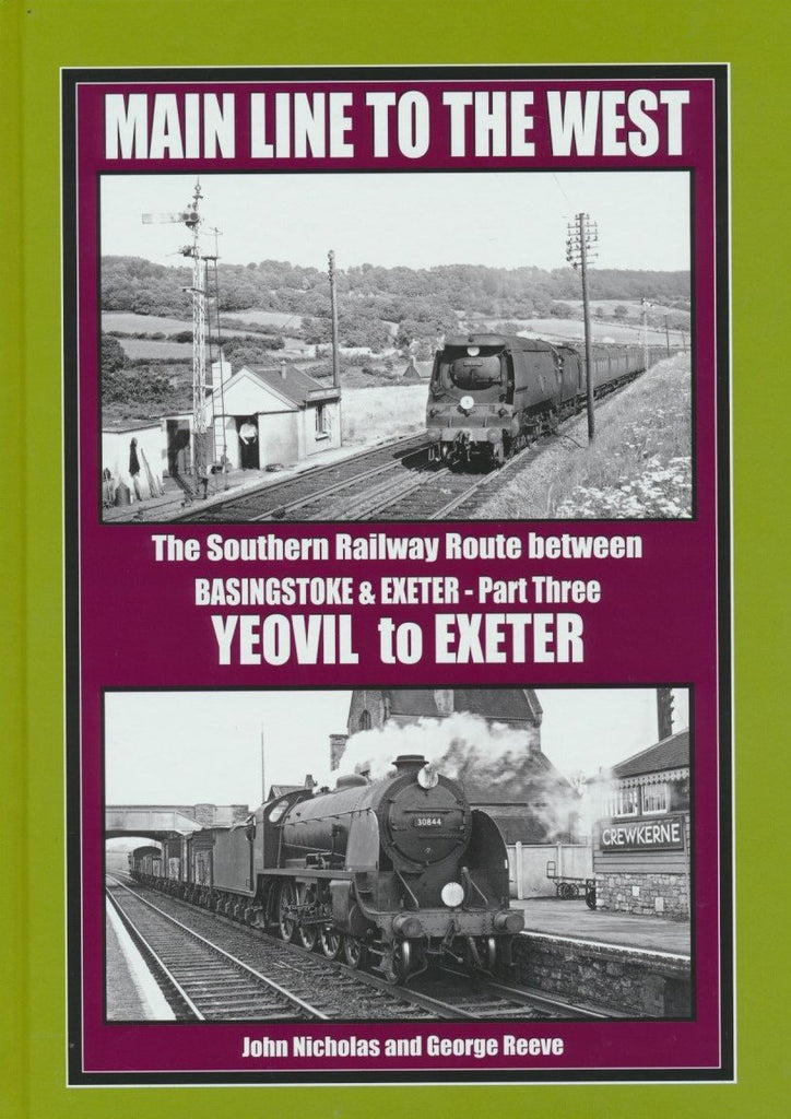 Main Line to the West Part 3 - Yeovil to Exeter