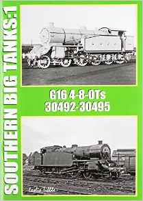 Southern Big Tanks: 1, G16 4-8-0Ts 30492-30495