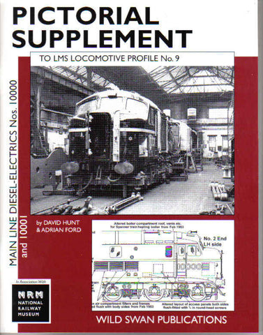 LMS Loco Profiles No. 9 Main Line Diesel Electrics Pictorial Supplement