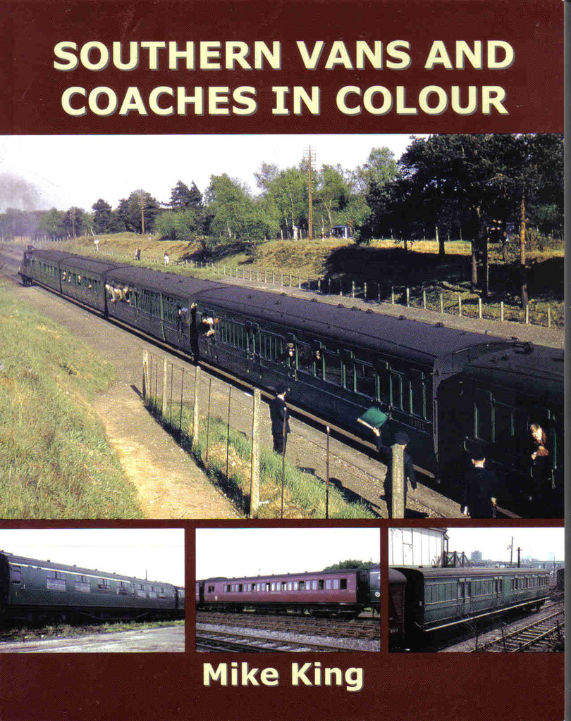 Southern Vans and Coaches in Colour (OOP)