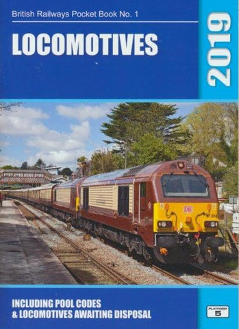 Locomotives (British Railways Pocket Book No. 1) 2019 edition