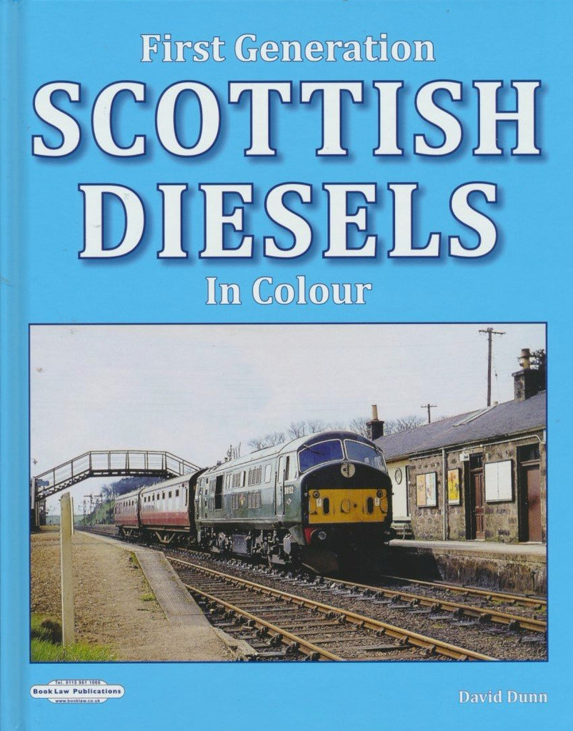 First Generation Scottish Diesels in Colour