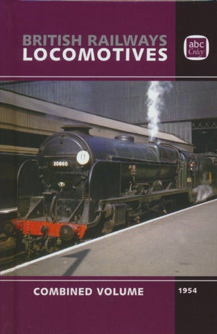 abc British Railways Locomotives 1954 Combined Volume