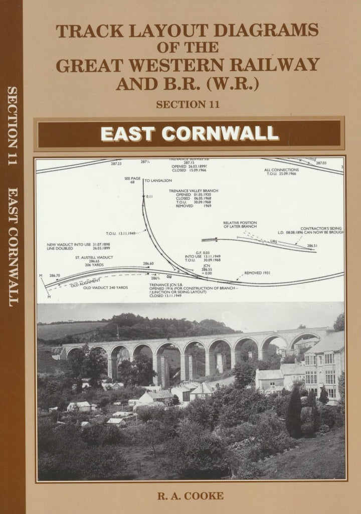 Track Layout Diagrams of the GWR - 11 East Cornwall