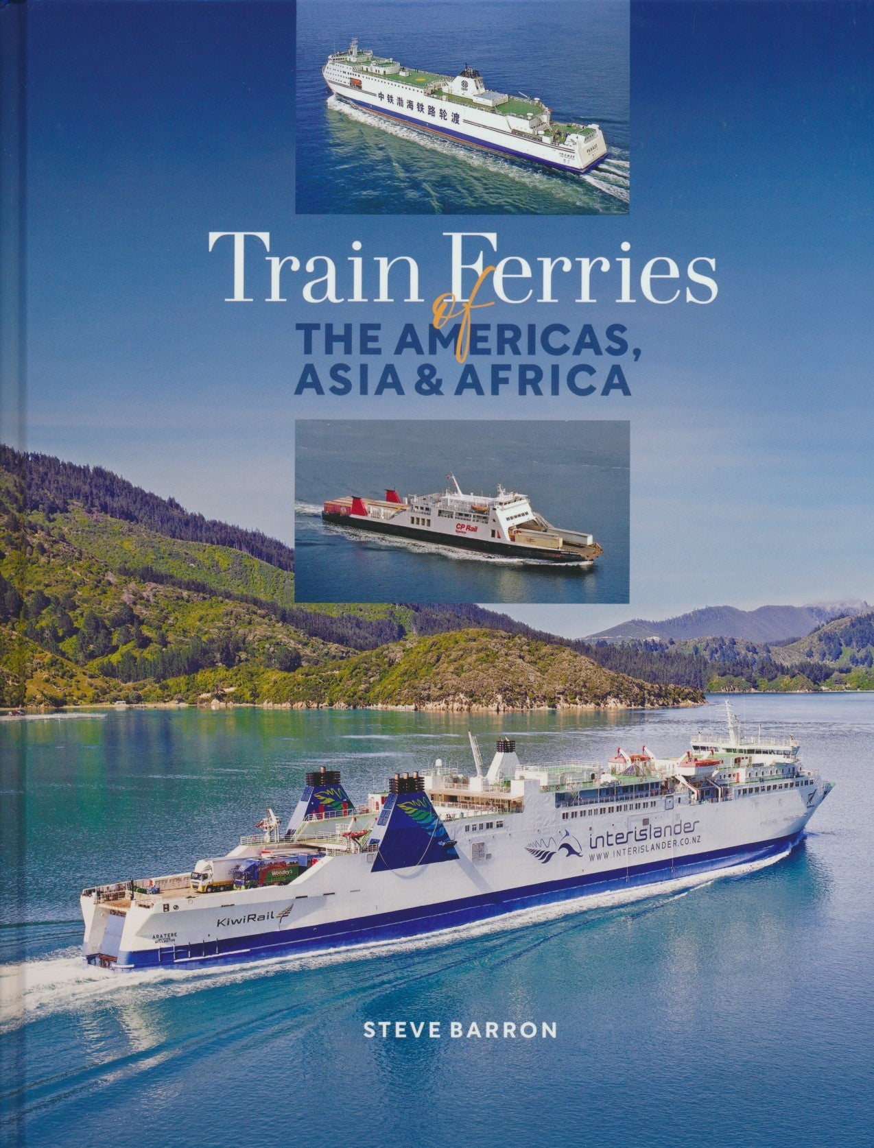Train Ferries of the Americas, Asia & Africa