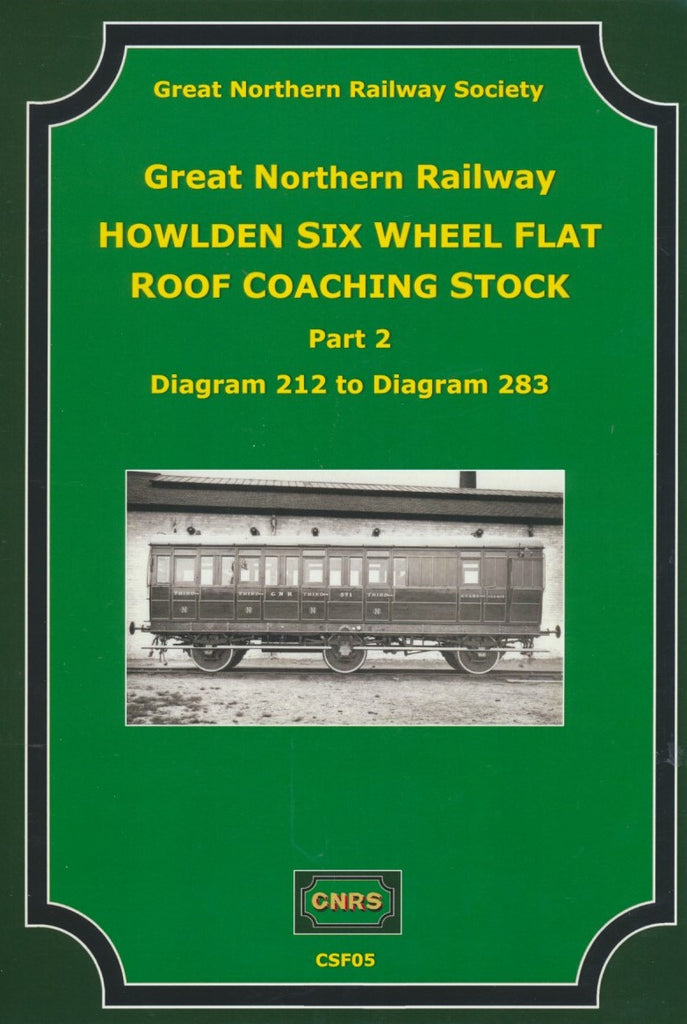 GNR Howlden Six Wheel Flat Roof Coaching Stock Part 2