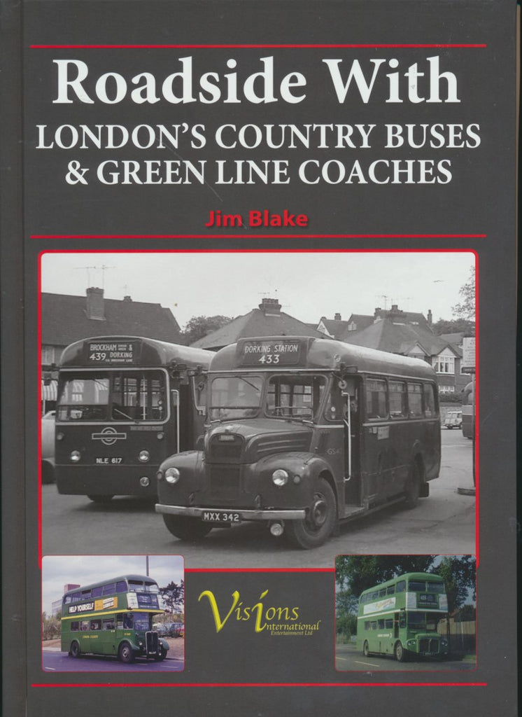 Roadside With London's Country Buses & Green Line Coaches