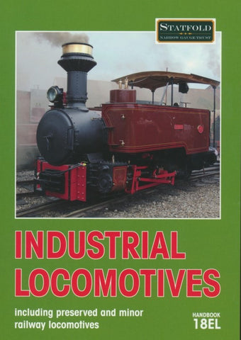 Industrial Locomotives Handbook 18EL (Hardback)