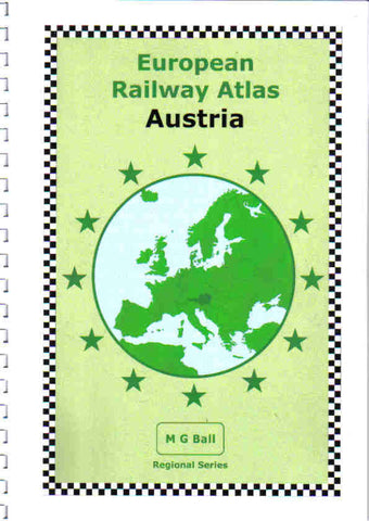 European Rail Atlas: Austria - 2019 Edition