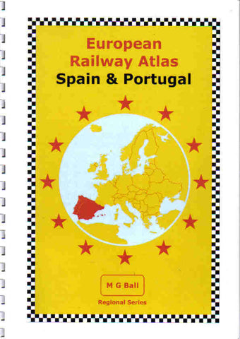 European Rail Atlas: Spain & Portugal