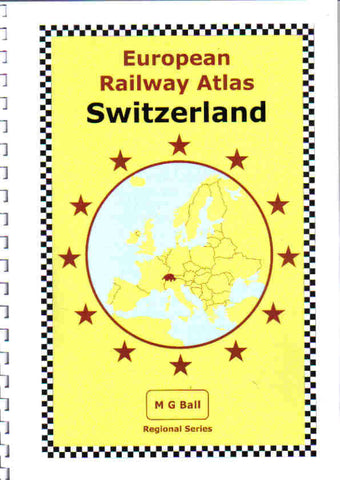 REDUCED European Rail Atlas: Switzerland