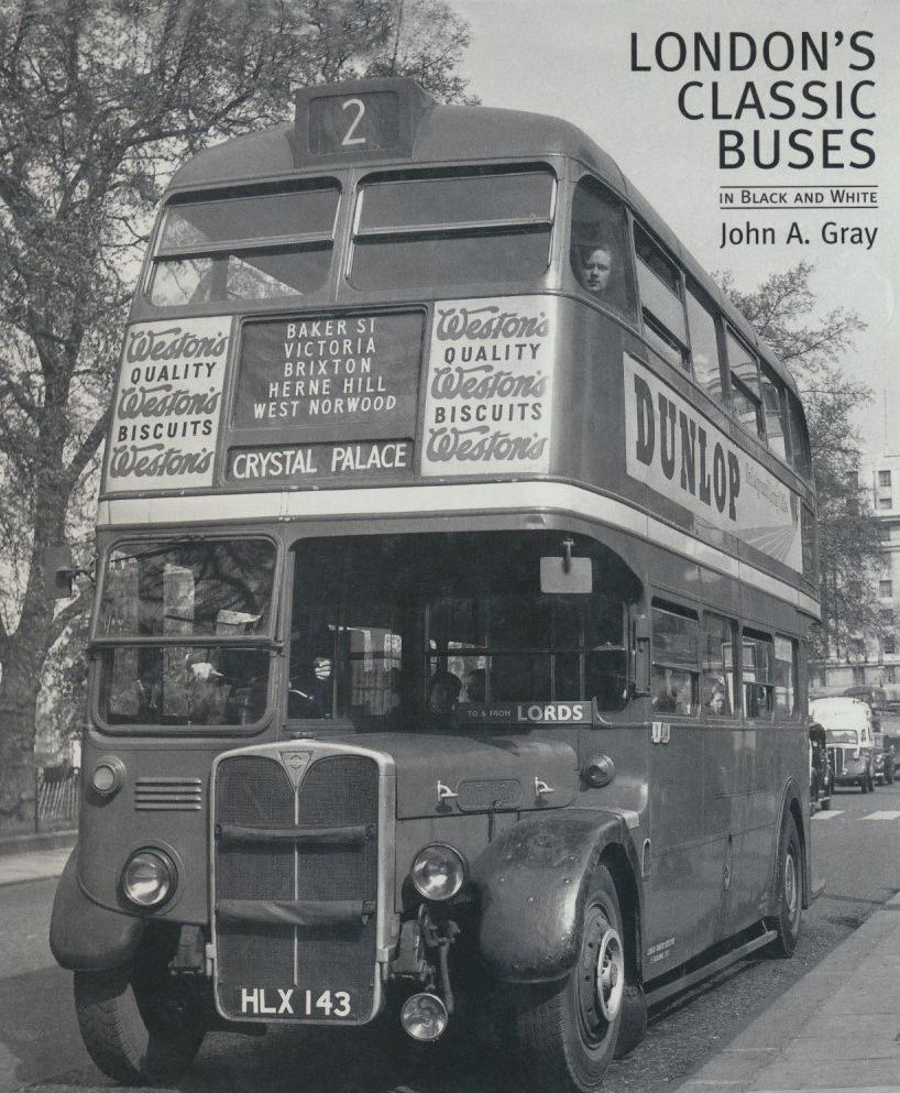 London's Classic Buses in Black and White