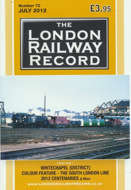 London Railway Record - Number 72