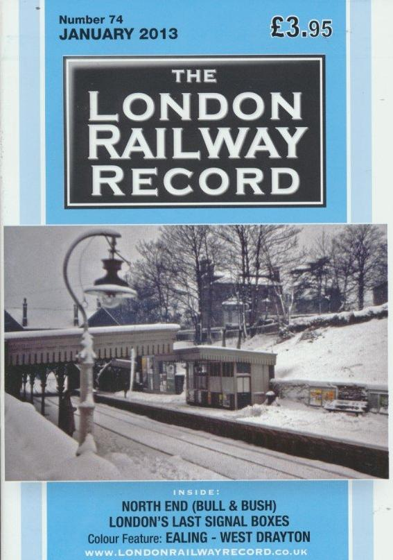 London Railway Record - Number 74