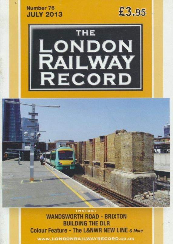 London Railway Record - Number 76