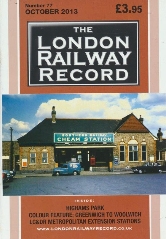 London Railway Record - Number 77