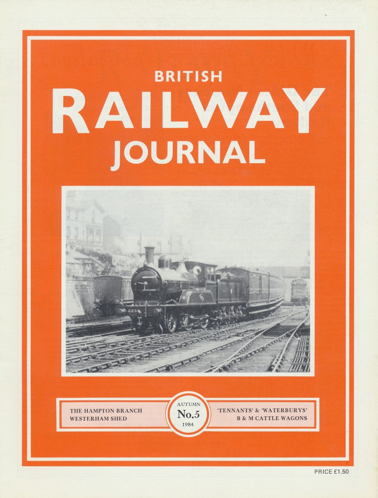 British Railway Journal - Issue  5