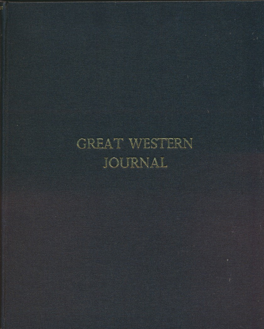 Great Western Journal - Bound Copy: Volume  7