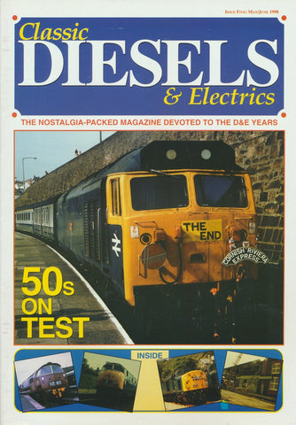 Classic Diesels & Electrics - Issue  5
