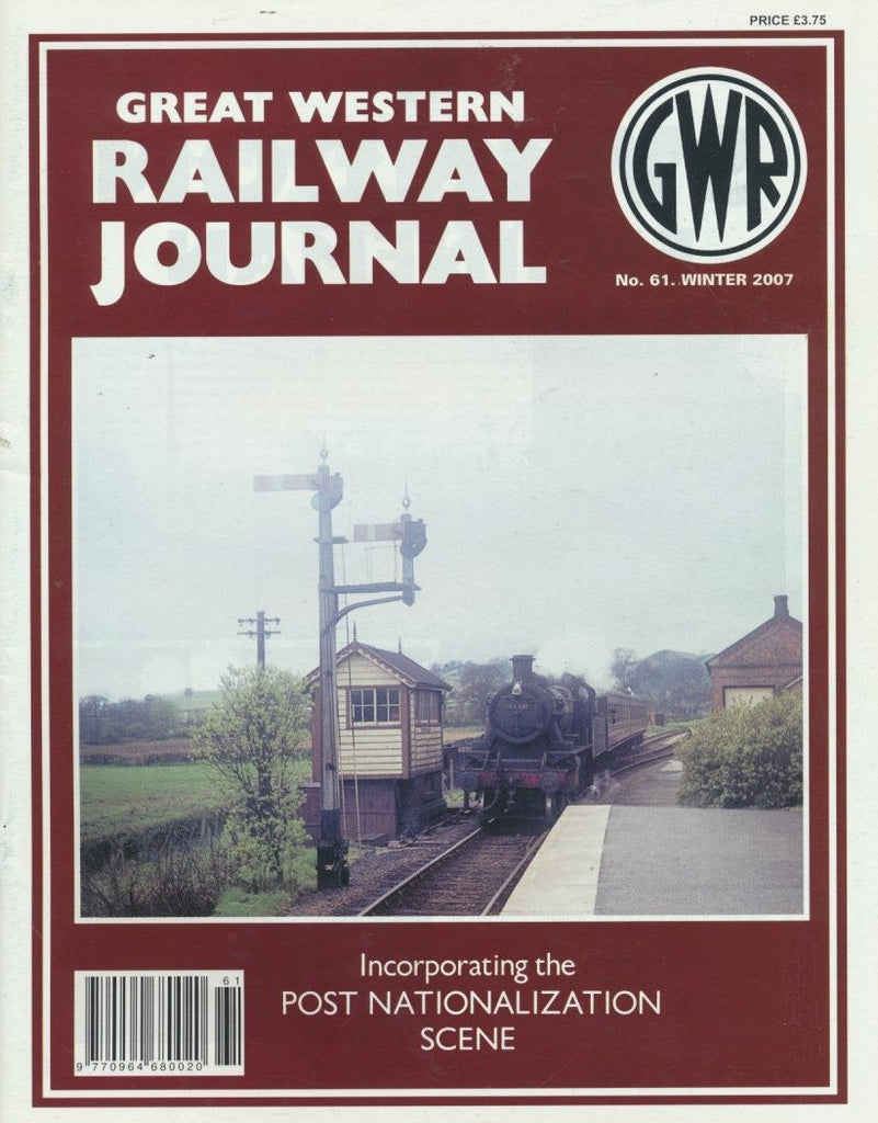 Great Western Railway Journal - Issue 61