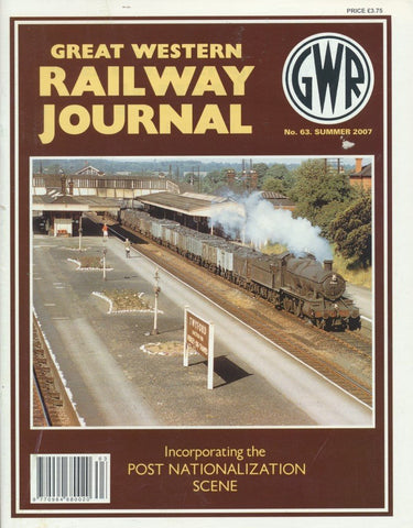 Great Western Railway Journal - Issue 63