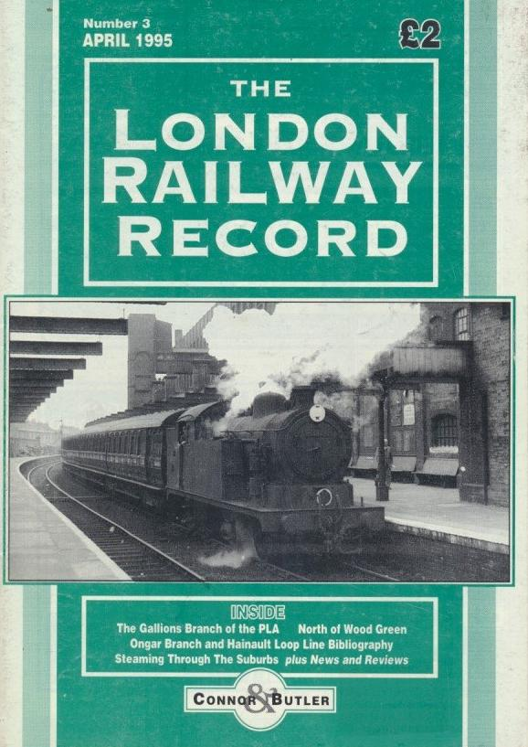 London Railway Record - Number  3