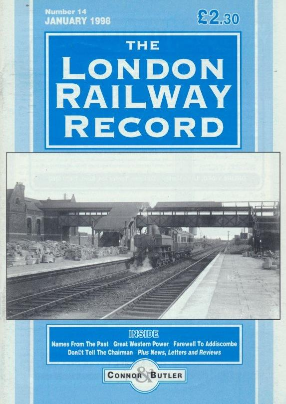 London Railway Record - Number 14