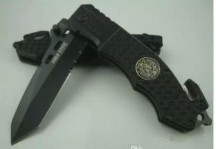Tactical Folding Knife (Spring Assist)
