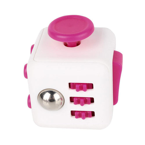 Cube - Original Size - White/Pink