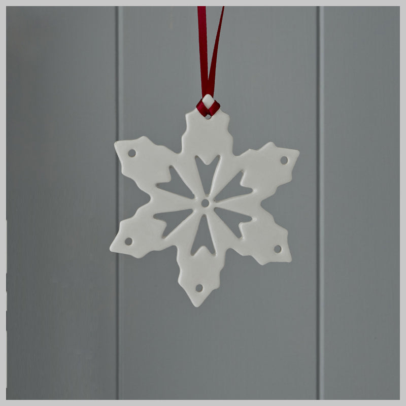 Snow Crystal Christmas Decoration