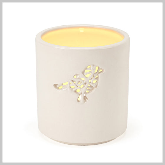 Tangled Bird Motif Tea Light Holder