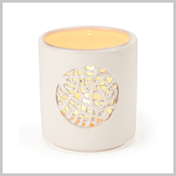 Tangled Circle Motif Tea Light Holder
