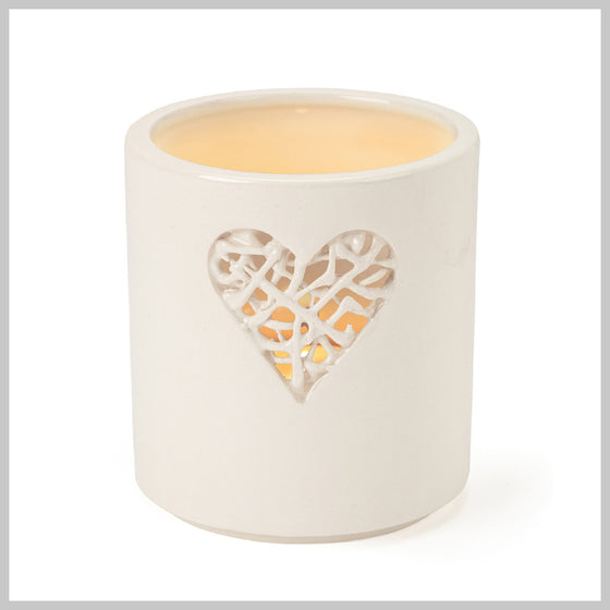 Tangled Heart Motif Tea Light Holder