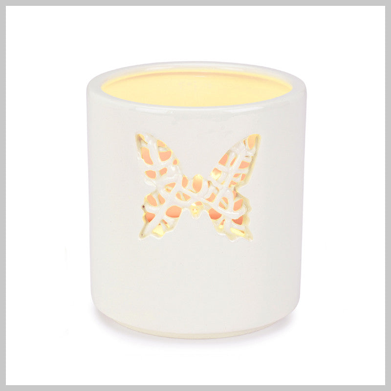 Tangled Large Butterfly Motif Tea Light Holder