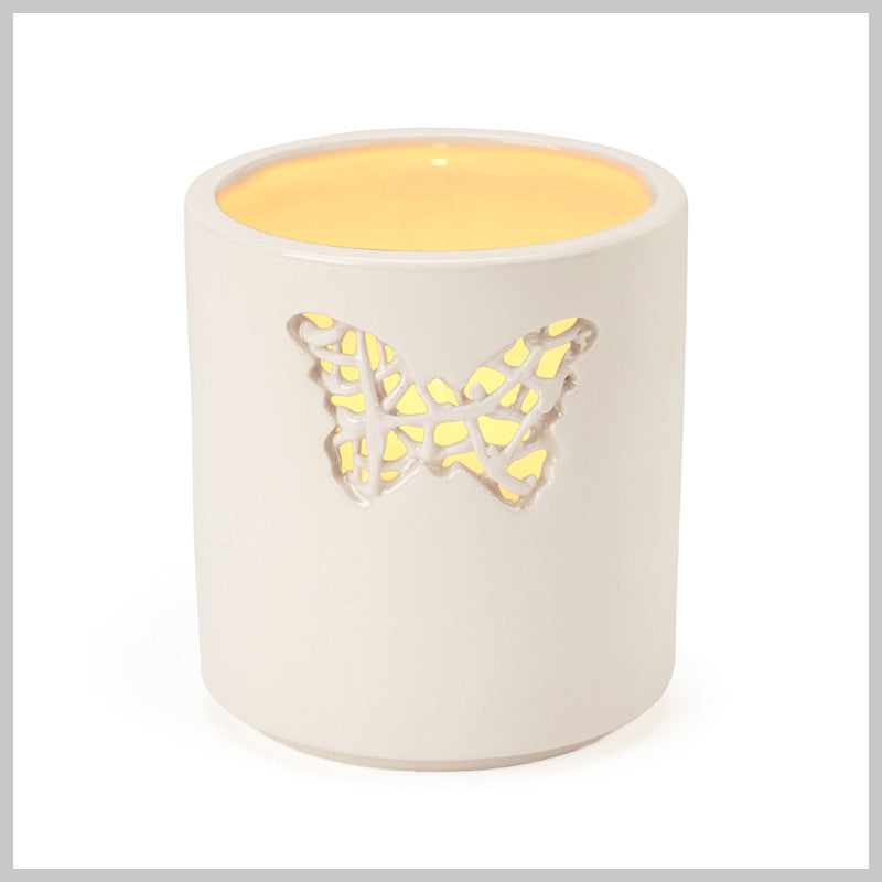 Tangled Small Butterfly Motif Tea Light Holder