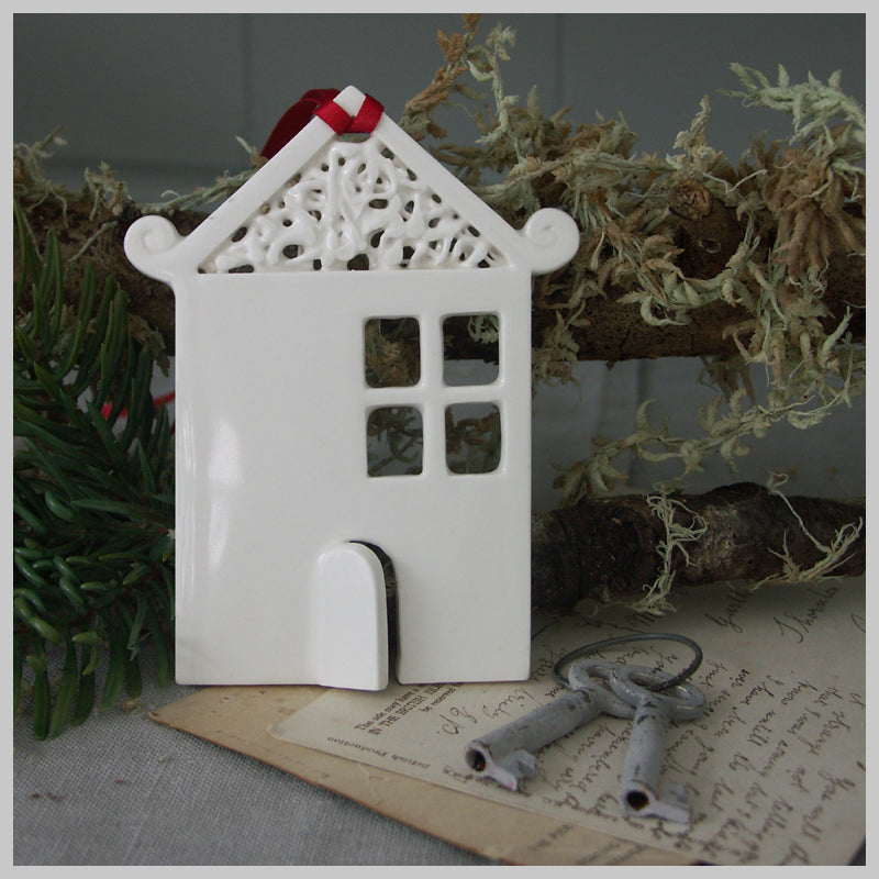 Haven Cottage - Ceramic Hanging Decoration