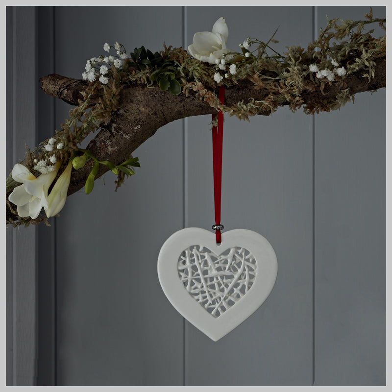 Tangled Heart Decoration