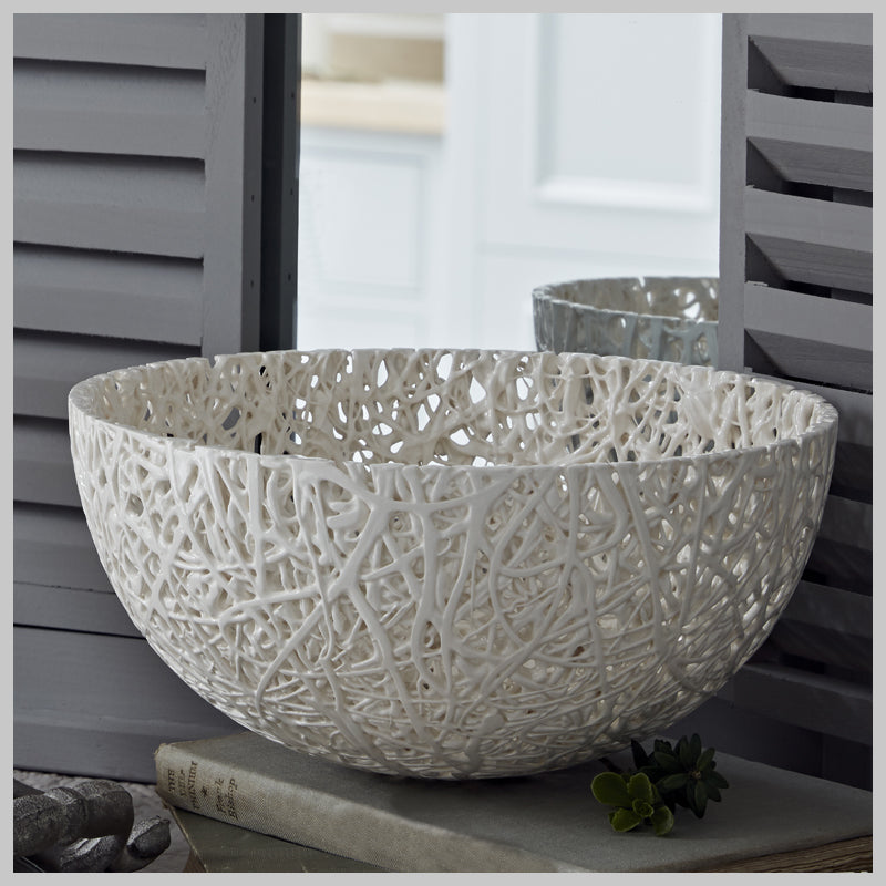 Tangled Web Extra Large Decorative Bowl