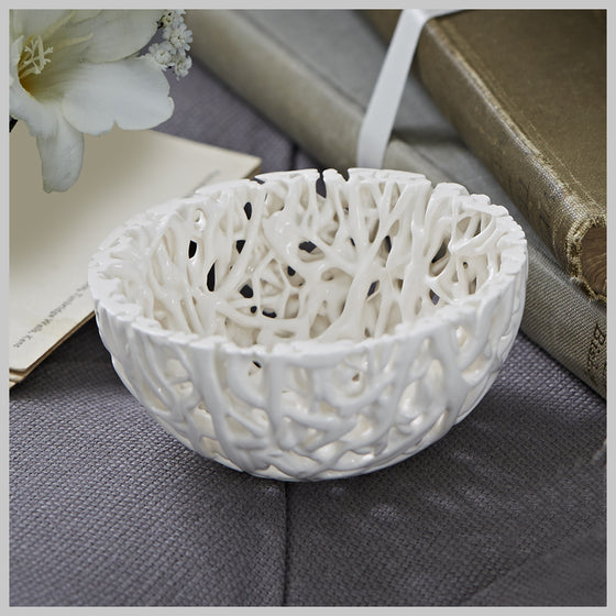 Tangled Web Small Decorative Bowl