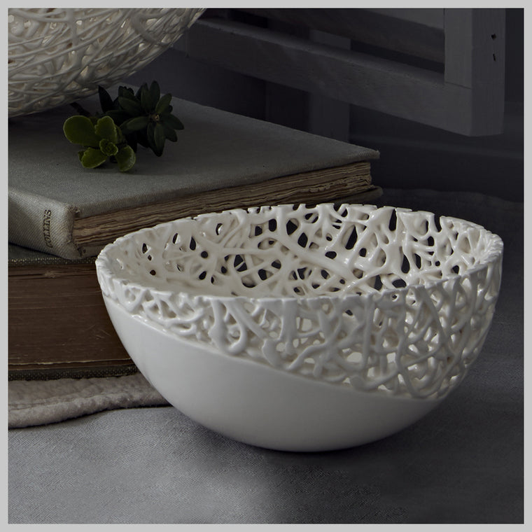 Tangled Fragment Medium Decorative Bowl