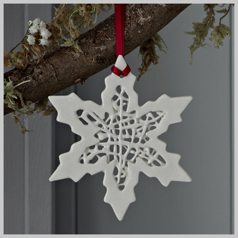 Tangled Snowflake Hanging Decoration