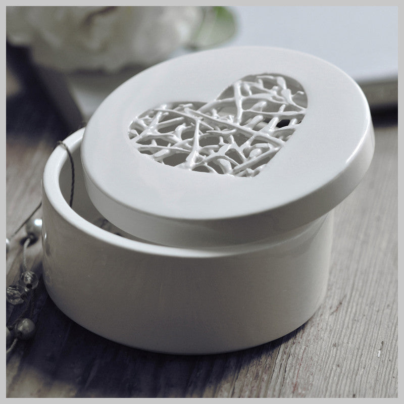 Tangled Heart Trinket Box
