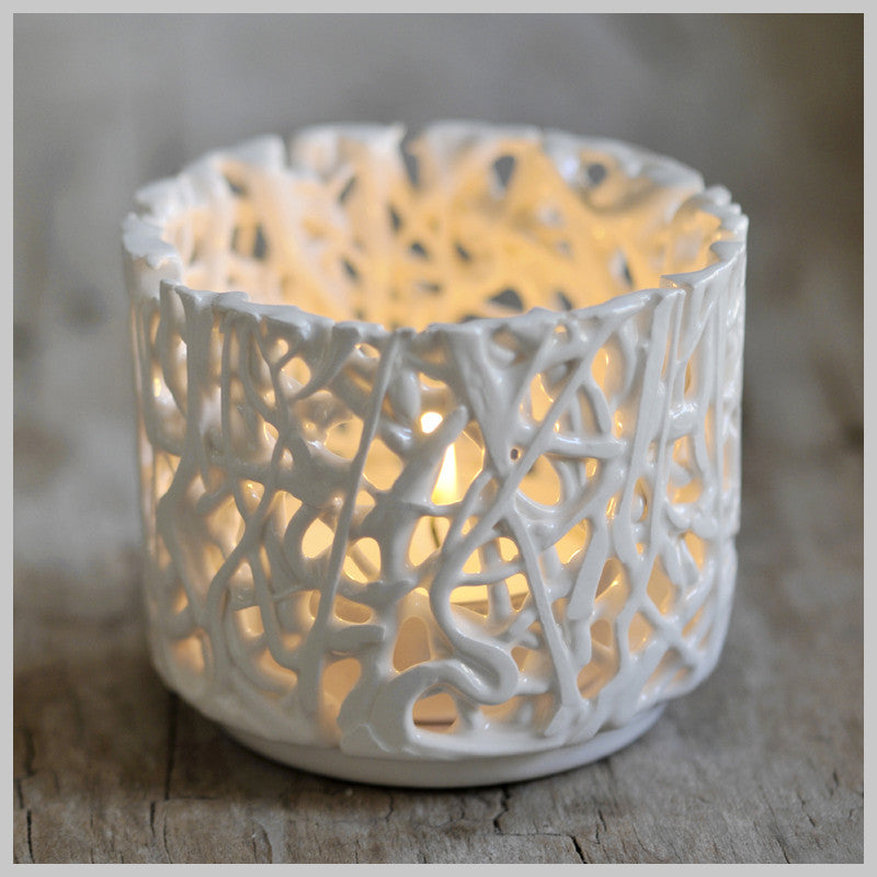 Tangled Web Tea Light Holders