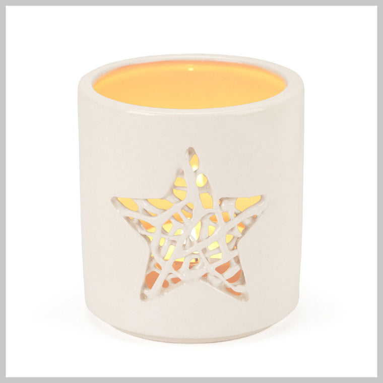 Tangled Star Motif Tea Light Holder