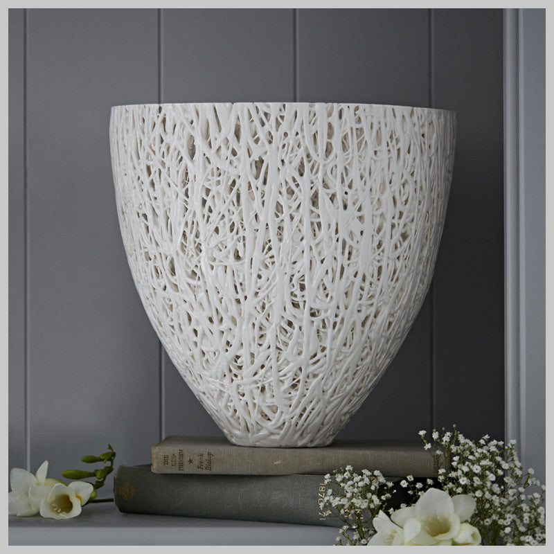 Tangled Web Decorative V Vessel