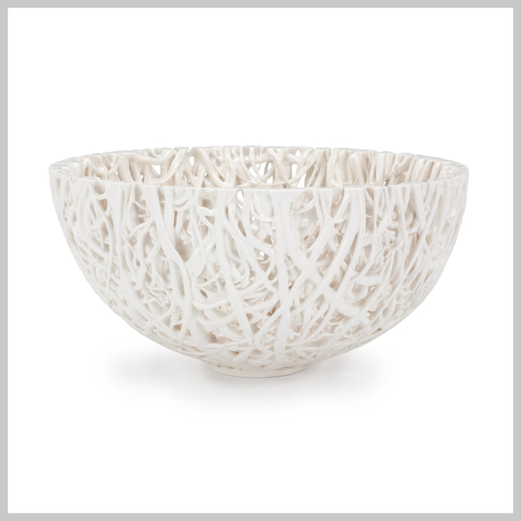 Tangled Web Large Decorative Bowl