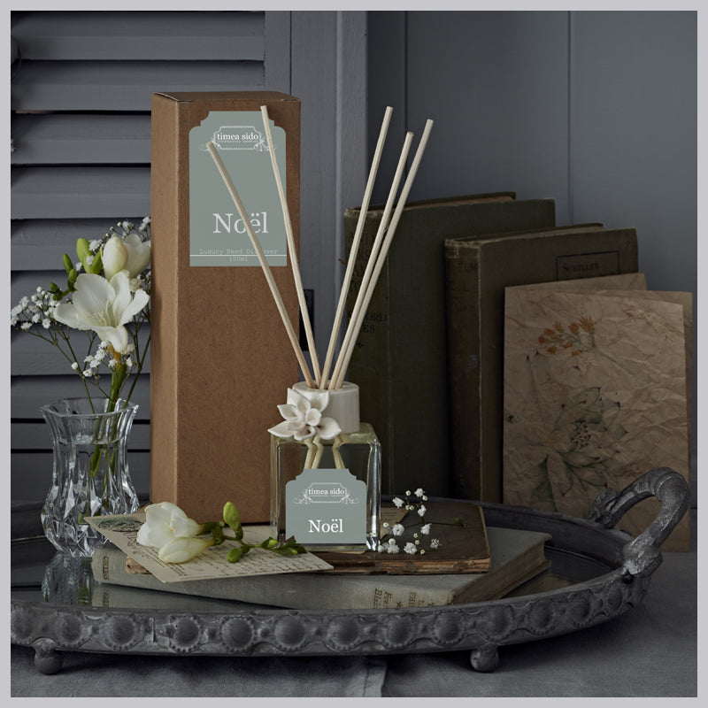 Noel (Orange, Nutmeg & Cinnamon) Luxury Reed Diffuser