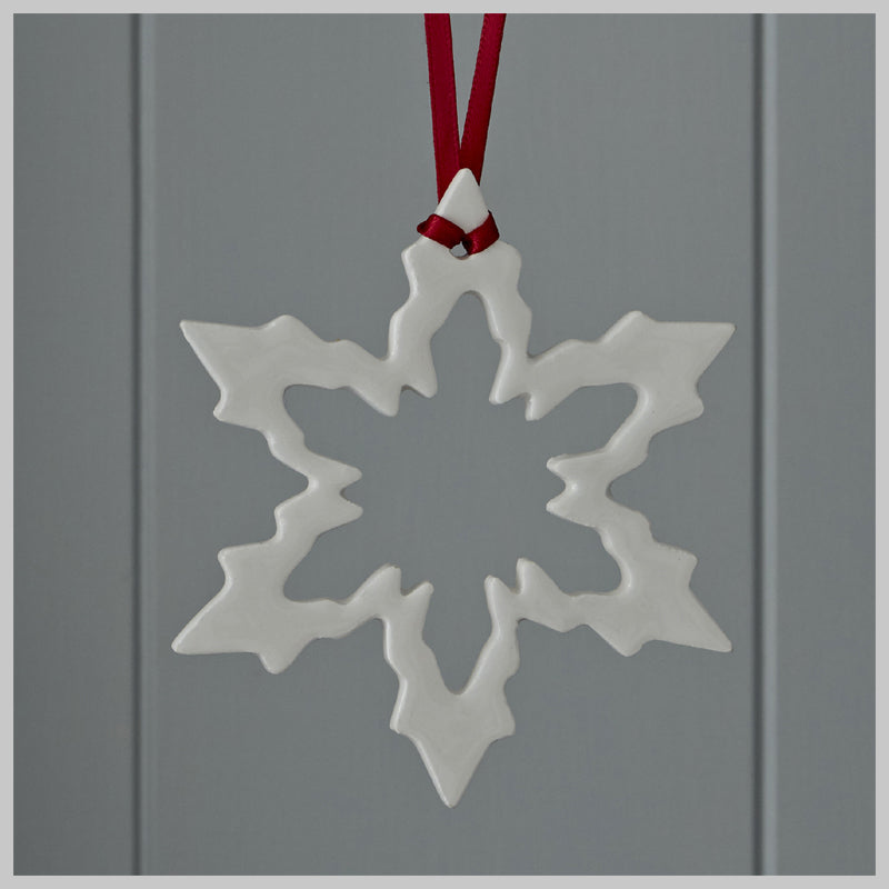 Snowflake Hanging Decoration