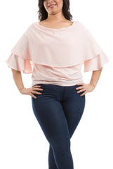 Ruffled Sleeves Blouse - Simon