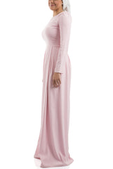 The Royal Pleated Dress - Pink